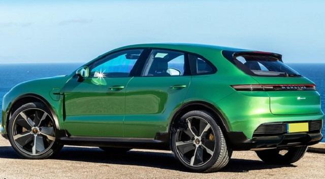 2022 Porsche Macan EV rear