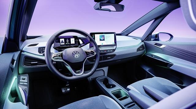 2022 Volkswagen ID.4 cabin