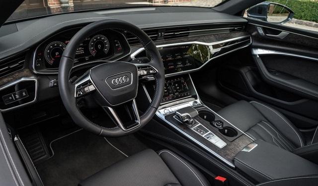 2021 Audi A7 cabin