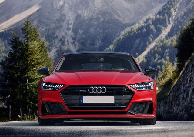 2021 Audi A7 front