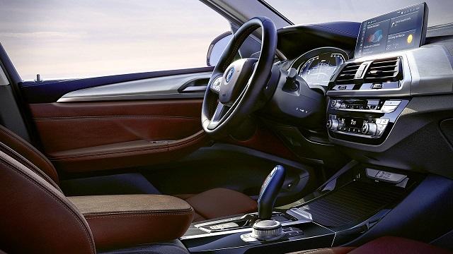 2021 BMW iX3 cabin