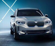 2021 BMW iX3 front