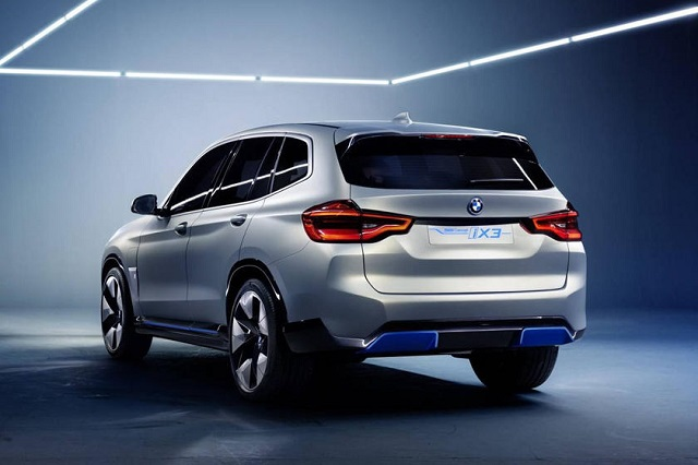 2021 BMW iX3 rear