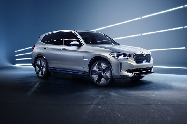2021 BMW iX3 side