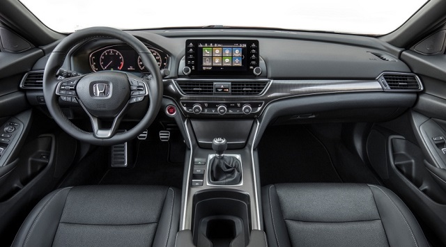2021 Honda Accord hybrid cabin