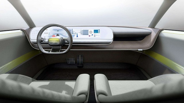 2021 Hyundai 45 EV cabin