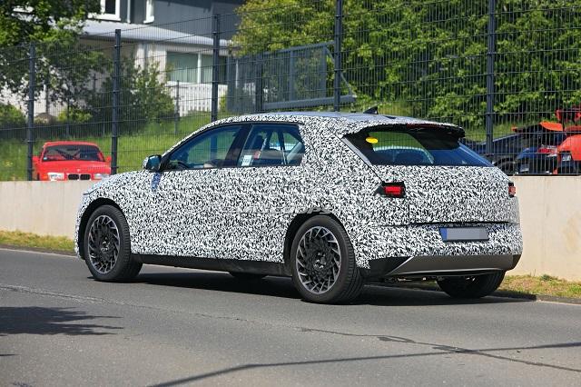 2021 Hyundai 45 EV rear