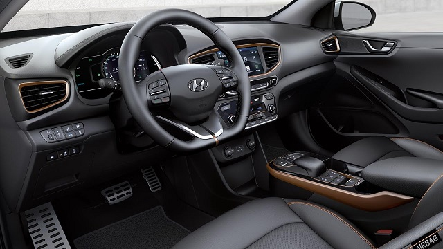 2021 Hyundai Ioniq cabin