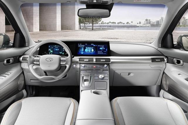 2021 Hyundai Nexo cabin