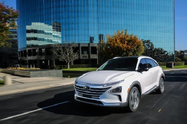 2021 Hyundai Nexo front
