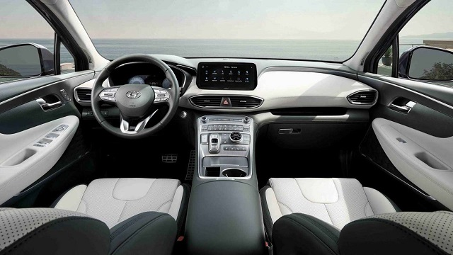 2021 Hyundai Santa Fe Plug-In Hybrid cabin