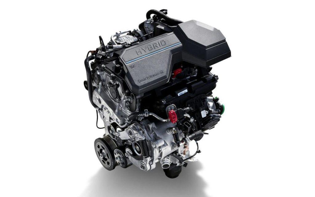 2021 Hyundai Santa Fe Plug-In Hybrid system