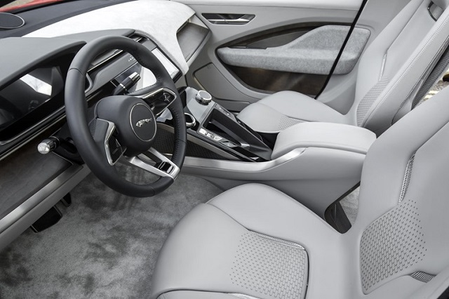 2021 Jaguar J-Pace interior