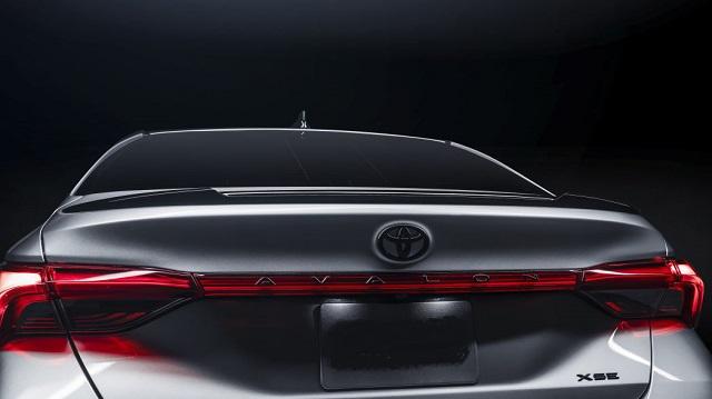 2021 Toyota Avalon Nightshade Edition taillights