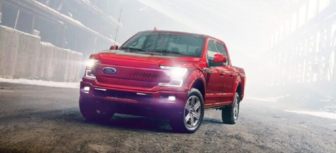 2022 Ford F-150 Electric front