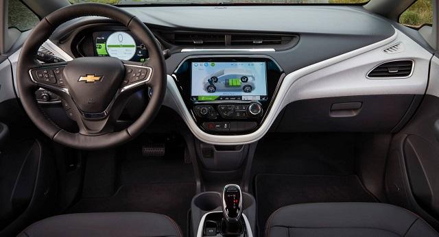 2021 Chevrolet Bolt EV cabin