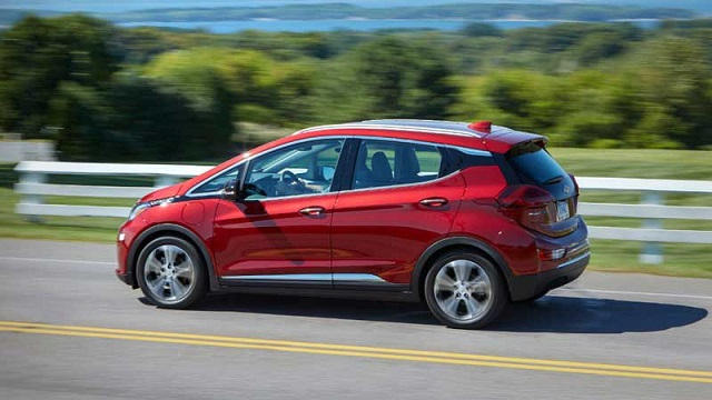 2021 Chevrolet Bolt EV rear