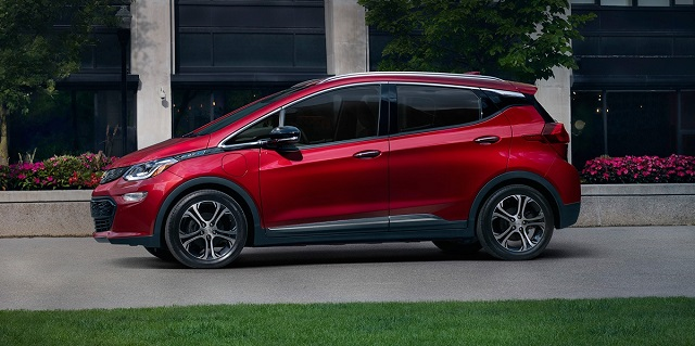2021 Chevrolet Bolt EV side