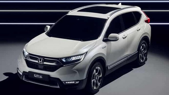 2021 Honda CR-V Hybrid side