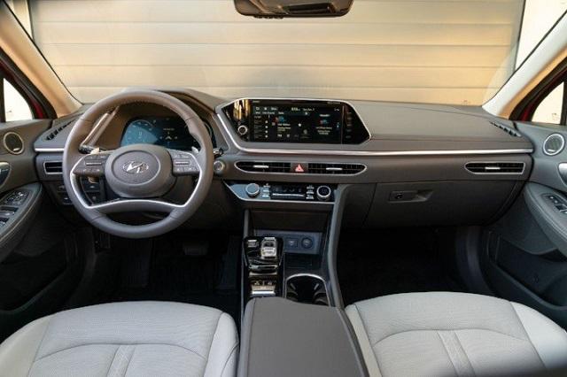 2021 Hyundai Sonata Hybrid cabin