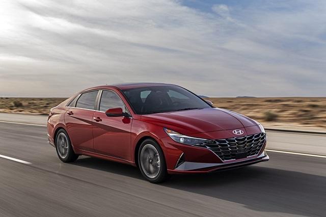 2021 Hyundai Sonata Hybrid side