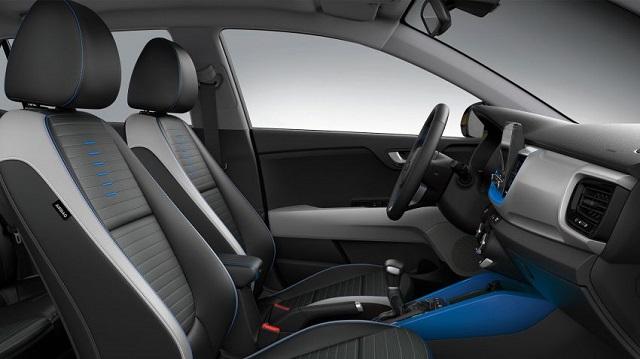 2021 Kia Stonic cabin seats