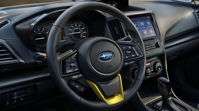 2021 Subaru Crosstrek cabin