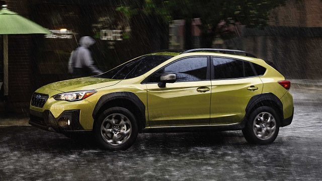 2021 Subaru Crosstrek side