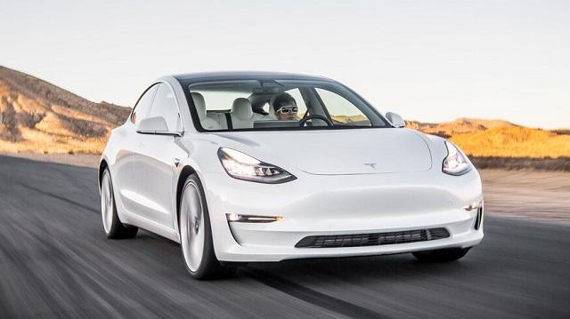 2021 Tesla Model 3 front