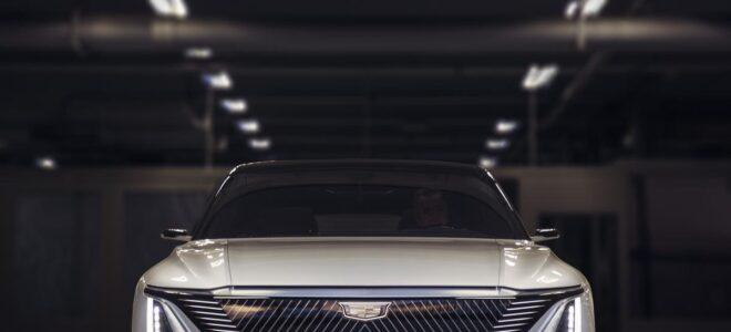 2023 Cadillac Lyriq front