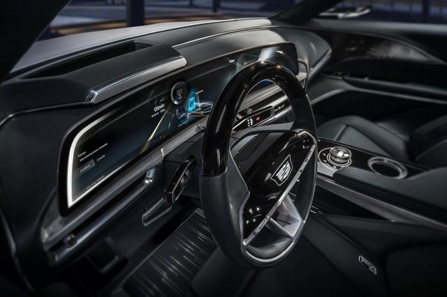 2023 Cadillac Lyriq cabin