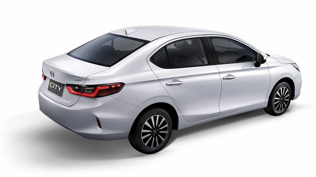 2021 Honda City rear