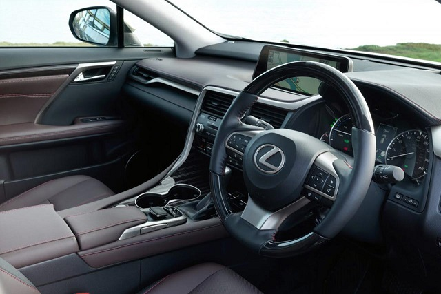 2021 Lexus RX 450h cabin