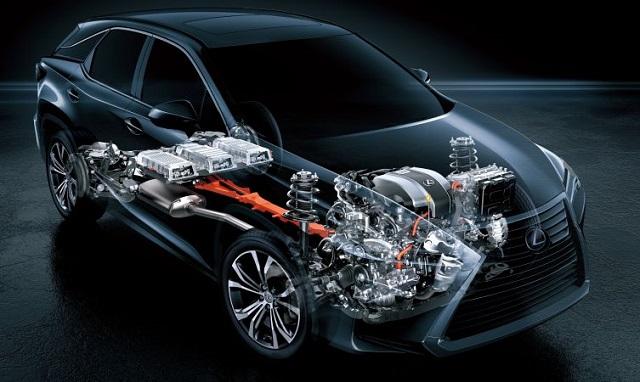 2021 Lexus RX 450h engine