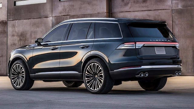 2021 Lincoln Aviator rear