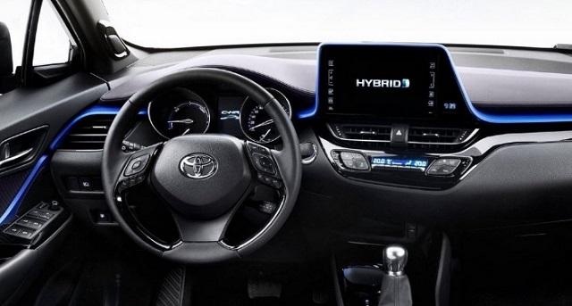 2021 Toyota C-HR cabin