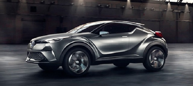 2021 Toyota C-HR side