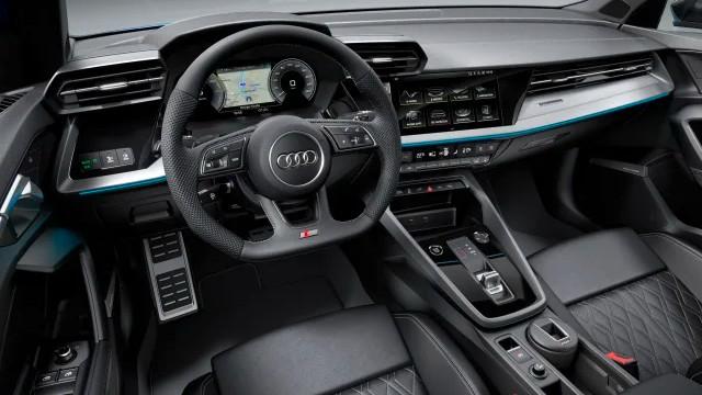2021 Audi A3 PHEV interior
