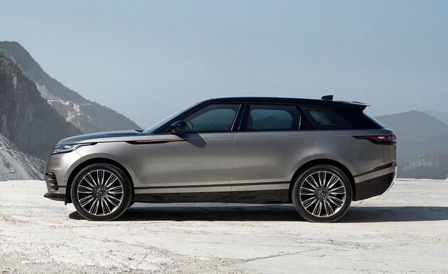 2021 Range Rover Velar side