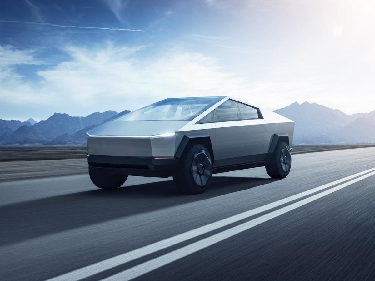 2021 Tesla Cybertruck front