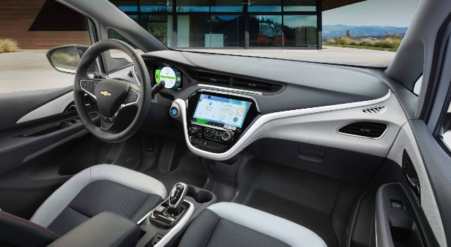 2022 Chevrolet Bolt interior