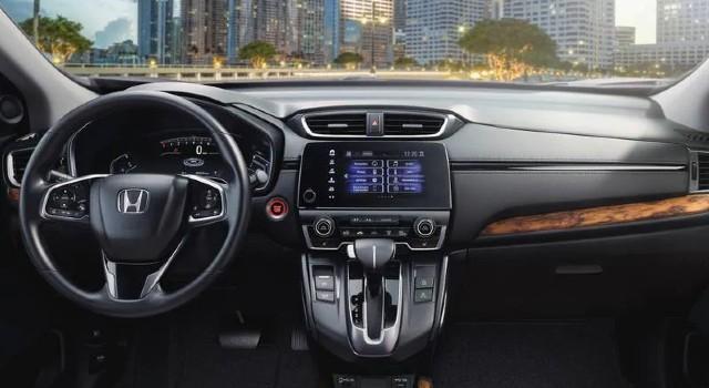 2022 Honda CR-V Hybrid interior