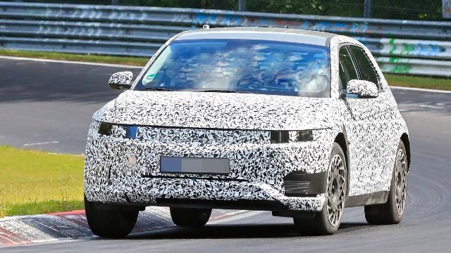 2022 Hyundai Ioniq spied