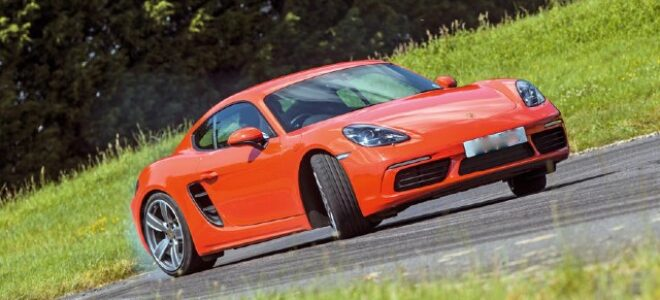 2022 Porsche Cayman electric