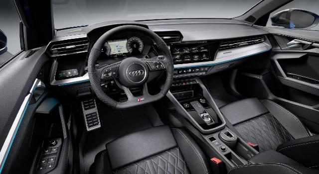 2022 Audi A3 Sportback Plug-In Hybrid interior