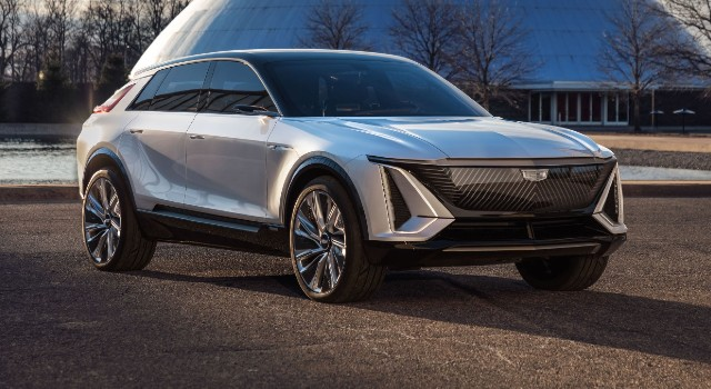 2022 Cadillac Lyriq design