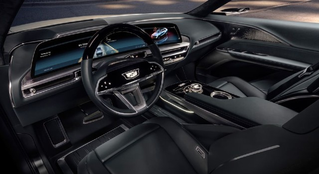 2022 Cadillac Lyriq interior