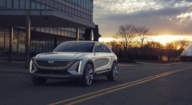 2022 Cadillac Lyriq range
