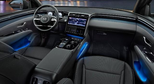 2022 Hyundai Tucson Plug-In Hybrid interior