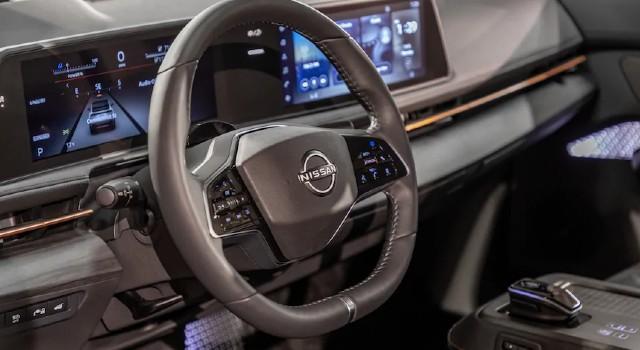 2022 Nissan Ariya interior